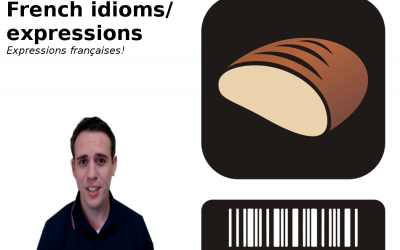 French Vocabulary, expressions and idioms (video lessons)